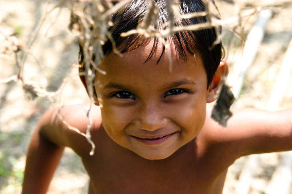 A boy from Puthia