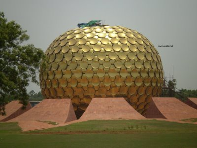 Mission Impossible: Entering Auroville's golden ball (Part 1) (1/3)