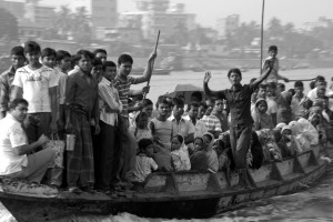Full to the brim - Buriganga River boat
