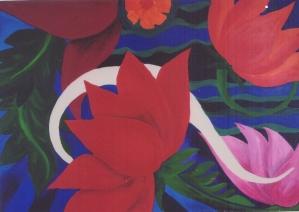 """Tasnim Rahman, """"Beautiful Lilies"""""""