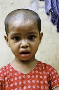 An orphan at Durjoy Child Centre