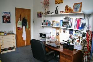 My bedroom in Clapton, Hackney