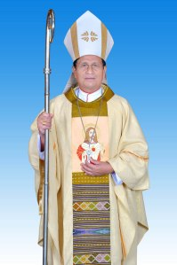 Archbishop Charles Bo of the Yangon Archdiocese. Photo courtesy of Saint Marys Cathedral