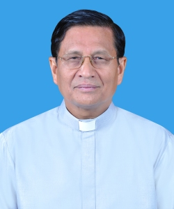 Archbishop Charles Bo of the Yangon Archdiocese. Photo courtesy of Saint Mary's Cathedral