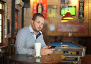 Phil Blackwood, general manager of 50th Street Cafe, Restaurant and Bar. (Ko taik / The Myanmar Times)
