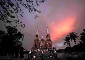 Saint Mary's Cathedral. By Ko Taik/The Myanmar Times