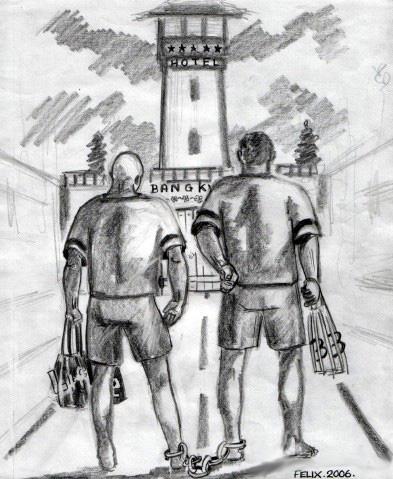 Visiting a Bangkok prison (2/2)