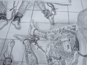 'Legs' by Bang Kwang inmate Felix Cheremnykh