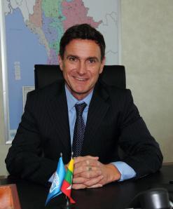 Bertrand Bainvel, UNICEF Representative to Myanmar