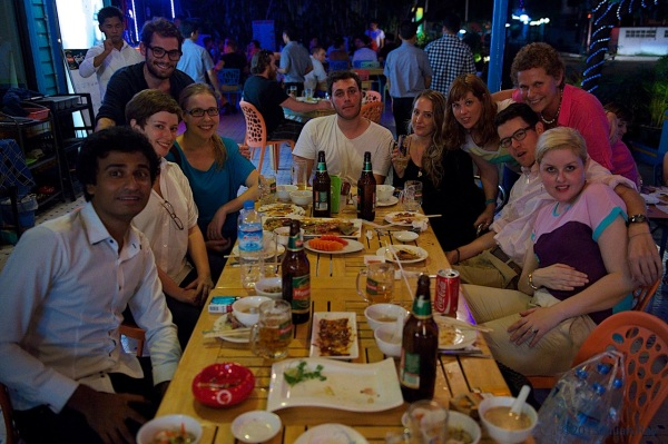 The Myanmar Foreign Correspondents' Club - our third meet up. Photo by Julian Ray - errantclickings.com