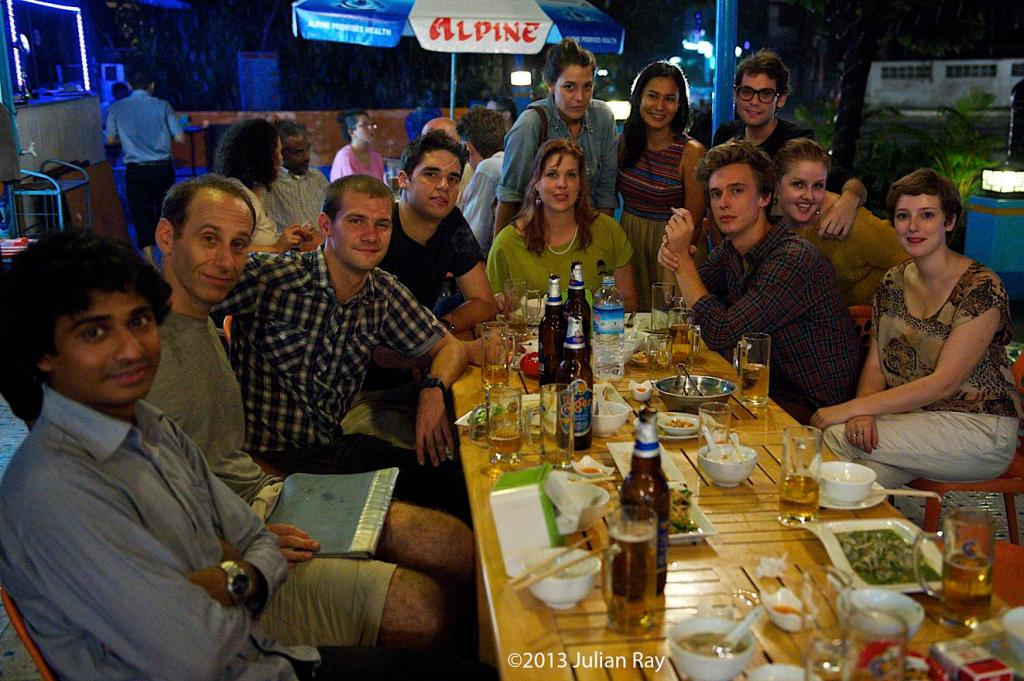 Our fourth meet-up, on 7 May 2013. Photo by Julian Ray/errantclickings.com