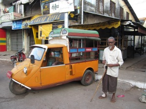 A man in Mawlamyine, Mon State.