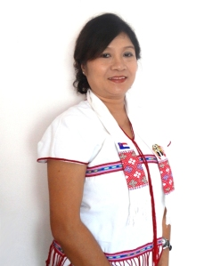 Susanna Hla Hla Soe in traditional Karen dress. Photo: supplied