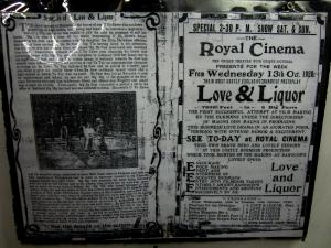 'Love and Liquor' was made in 1920 - it was Myanmar's first feature film.