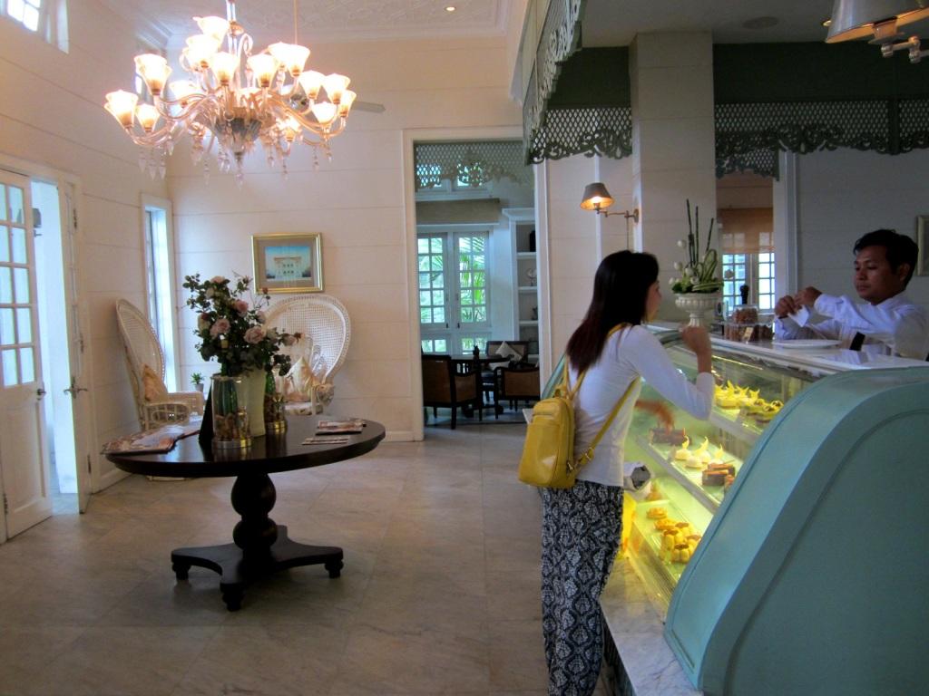 Acacia Tea Salon is pricey but oh so pretty...