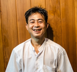 Burmese massage therapist Ko Min Min Soe. Photo supplied by Aldrich Sawbwa