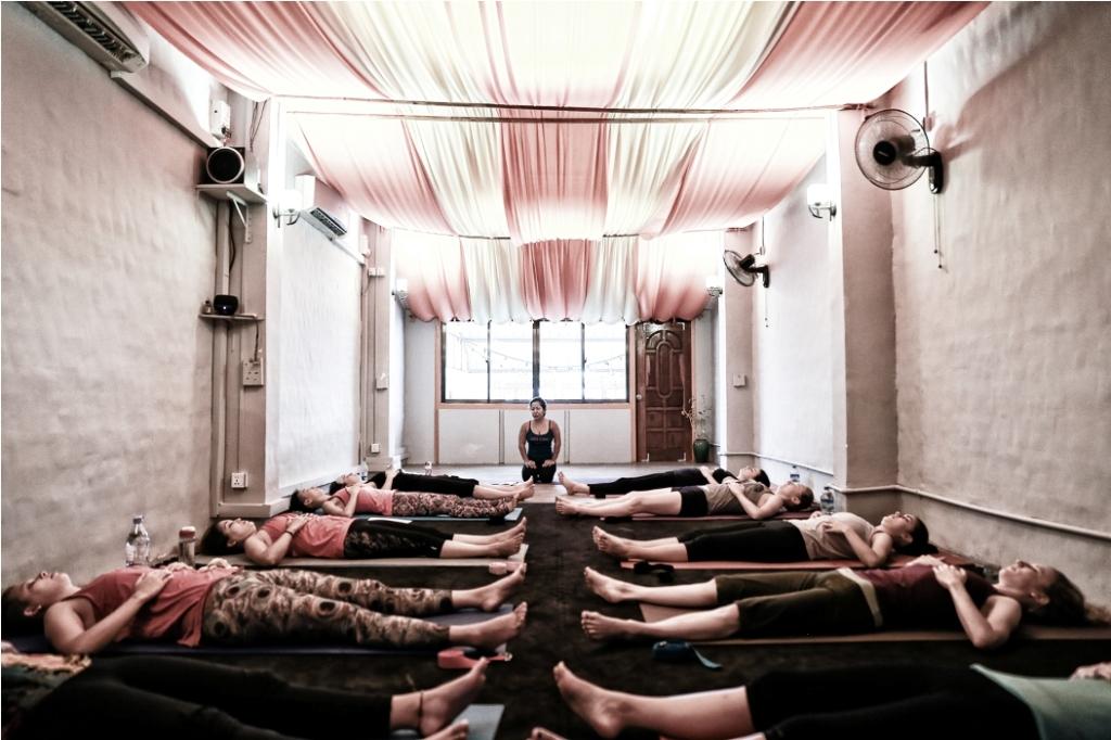 Photo supplied by Yangon Yoga House