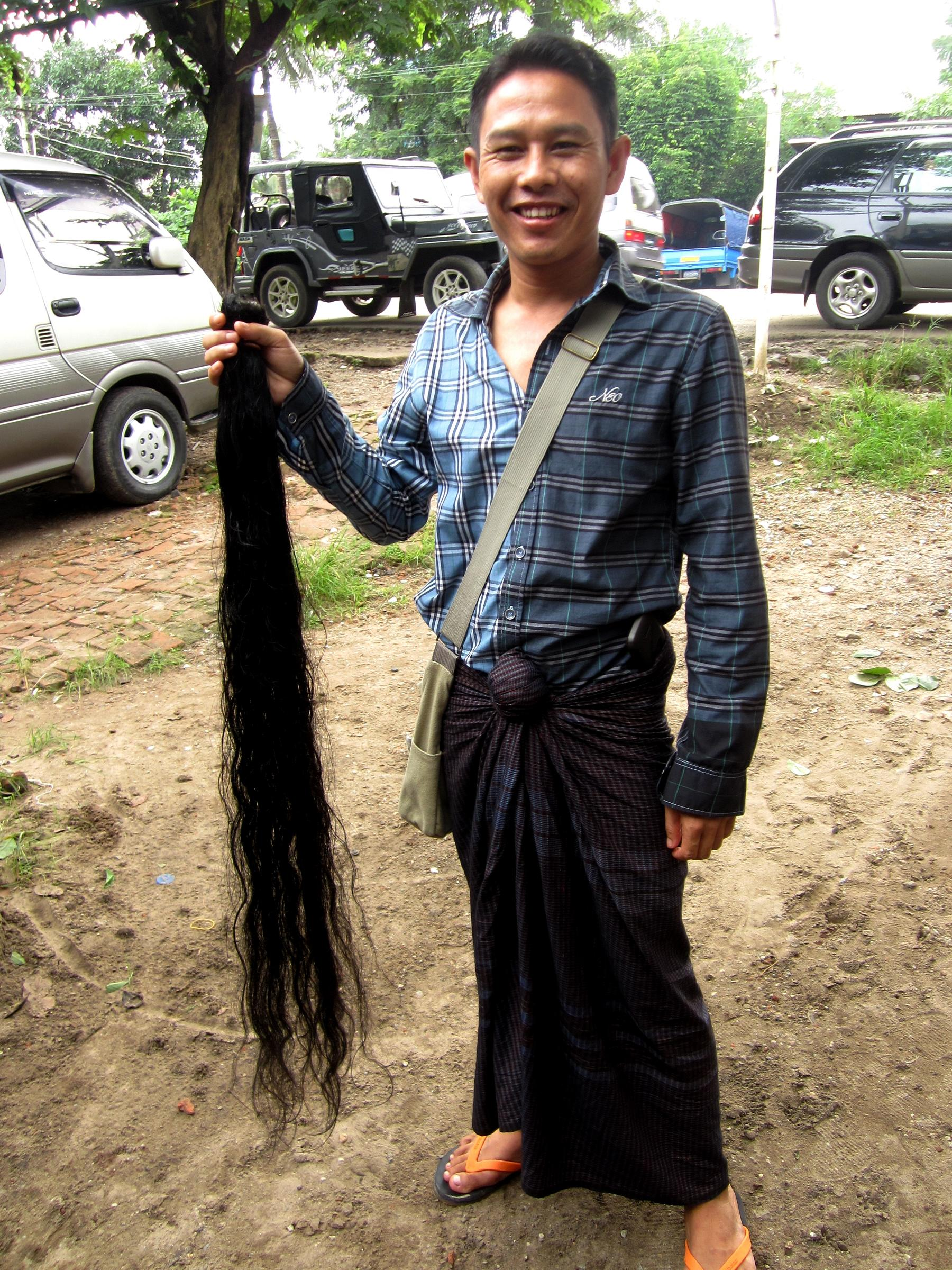 Myanmar Long Hair Women Jessica Mudditt