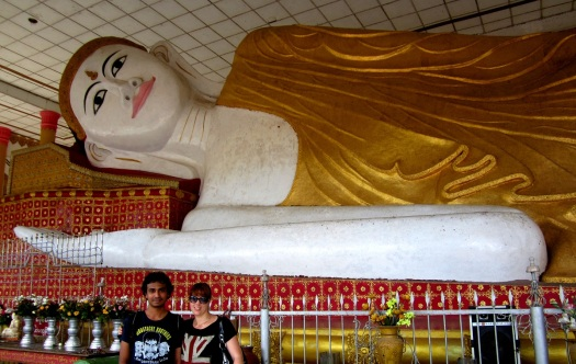 The world's second largest reclining Buddha