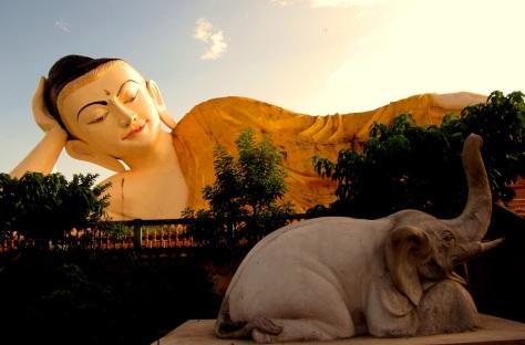 Shwethalyaung Buddha, Bago