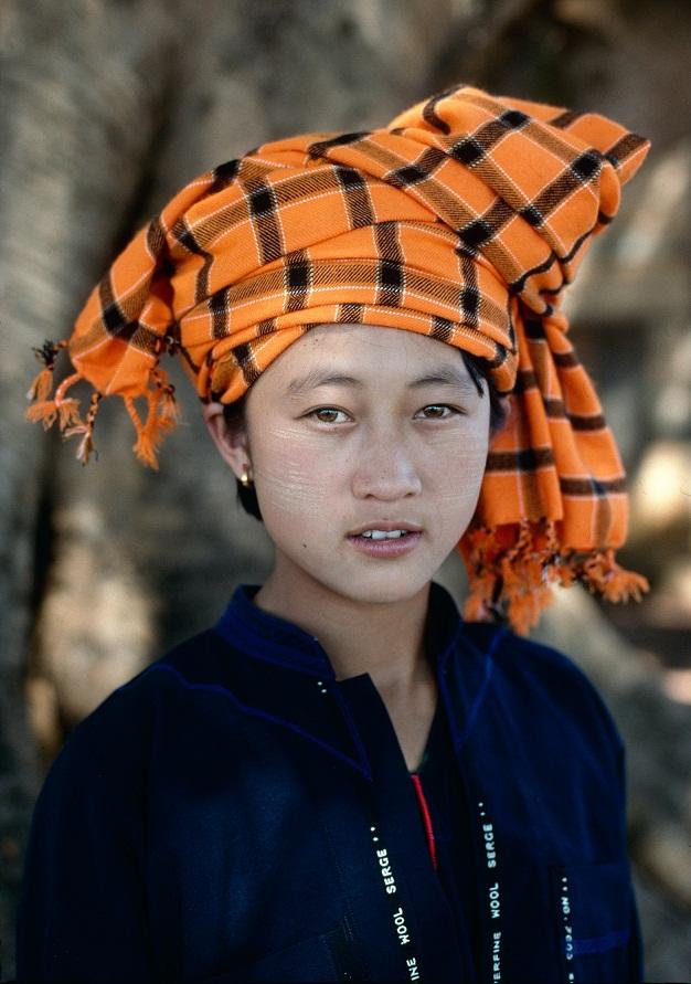 A Wa woman in upper Shan state, 1996. Photo: Richard K. Diran