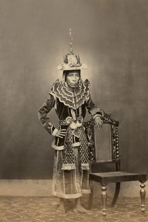 Burmese Minister in court dress - Photo by J. Jackson