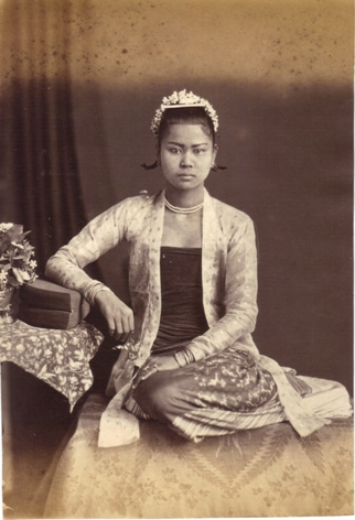 Burmese Lady by J. Jackson