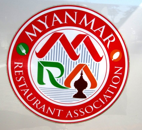 Myanmar Resturants' Association logo