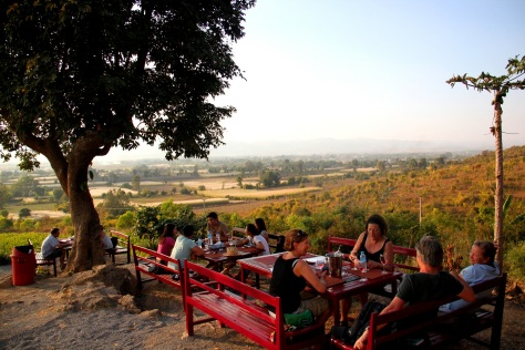Beautiful views at Red Mountain winery