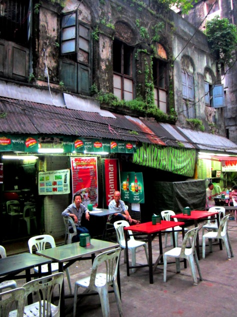 19th Street in Yangon's Chinatown has an abundance of atmosphere