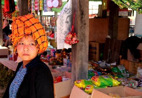The traditional Pa-O turban