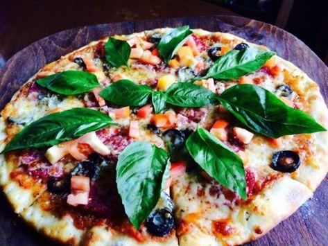 A 50th Street pizza