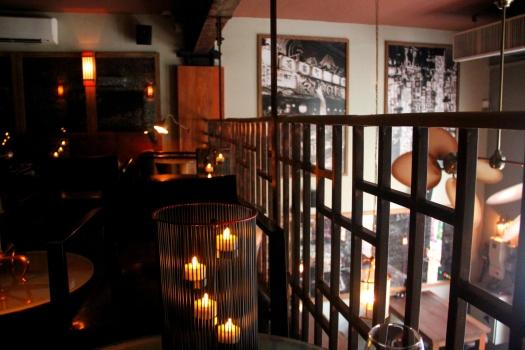 Gekko's upstairs lounge
