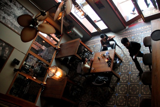 Gekko's tiled floors from Manchester