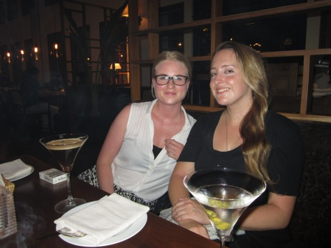 Martinis at Union Bar and Grill
