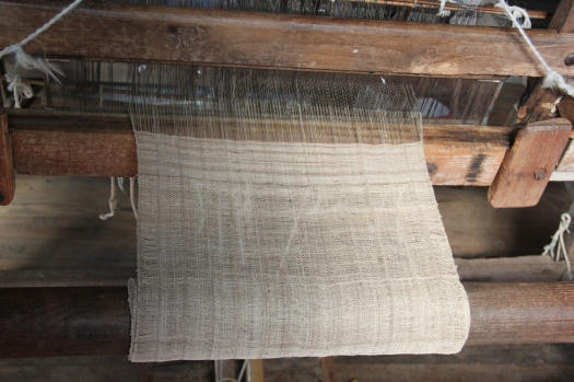 Inle Lake in Shan State, Myanmar, is the only place in the world where lotus silk is used to make textiles.