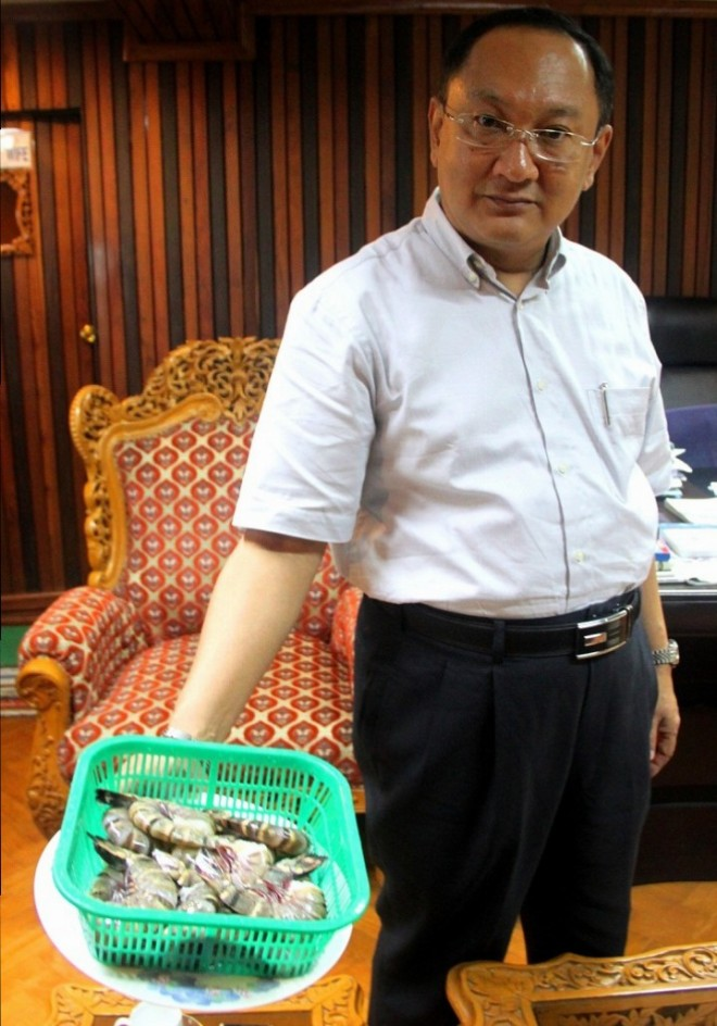 Myat Aung Nyunt, Managing Director of Ocean Harvest and Joint Secretary of Myanmar Fisheries and Seafood Exporters and Processors Association