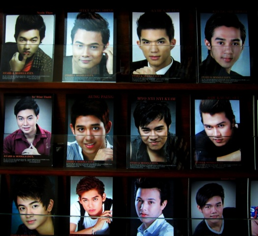 Some of Stars and Models International's contracted male models