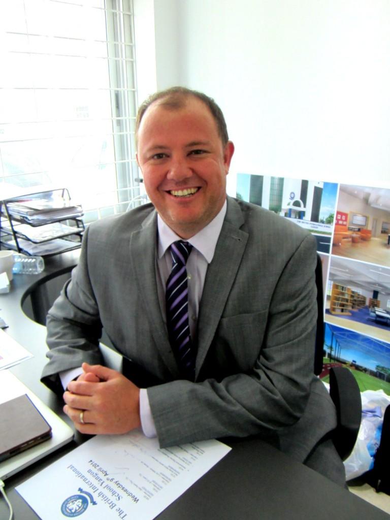 Headmaster Adam Johnson