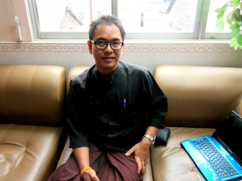Nay Phone Latt: Former political prisoner and blogger, MIDO founder, PEN Myanmar secretary and campaigner against hate speech