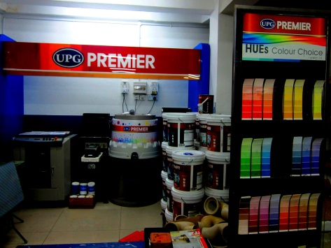A UPG Premier showroom in Yangon