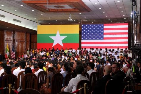 Yangon University's Diamond Jubilee Hall