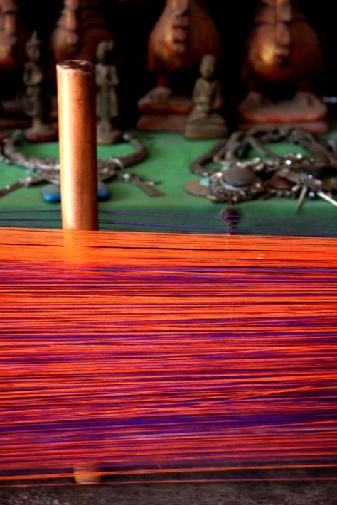 Padaung textiles