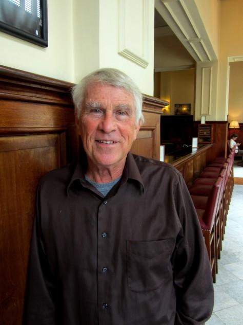 Professor Mark Juergensmeyer at The Strand Hotel in Yangon