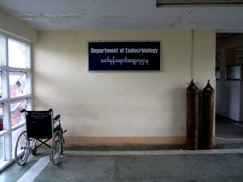 The Department of Endocrinology at North Okkalapa General Hospital, Yangon