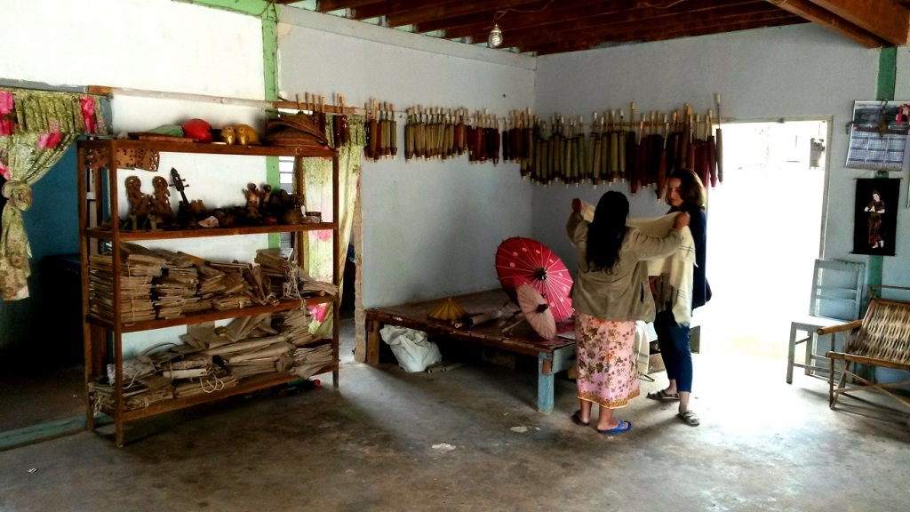 Chin textiles and handicrafts are among Myanmar's finest. Photo supplied by MIID