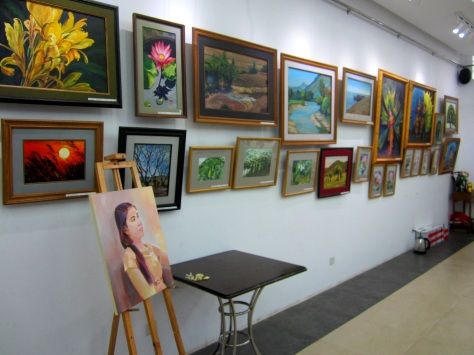 "Nawaday Art Gallery aims to bring ""peace and delight."""