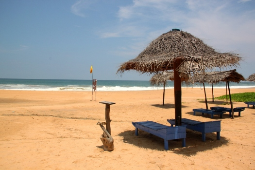 Hikkaduwa beach, just 98 kilometres south of Colombo