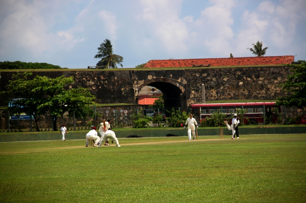 Sri Lankans are mad about cricket - you'd be mad to miss one in super scenic Galle