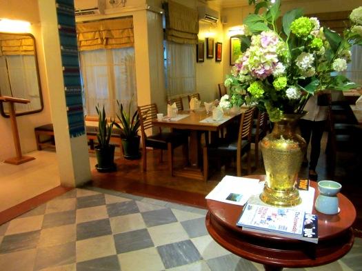 Nacha's elegant interior
